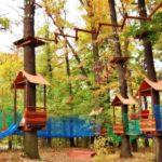 Rodzinny Park Linowy w Jeziorach Wysokich